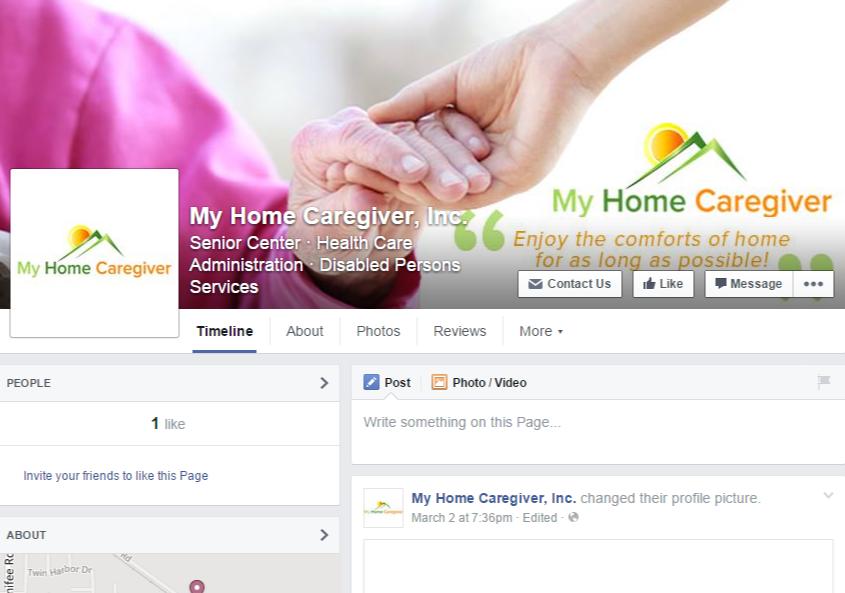 Facebook – My Home Caregiver Inc